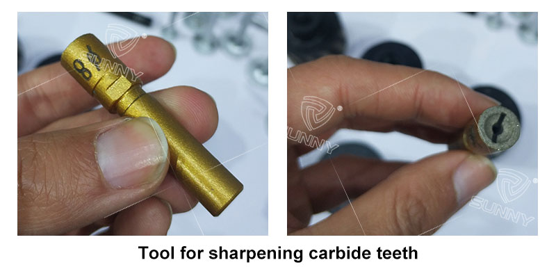 tools for sharping carbide teeth