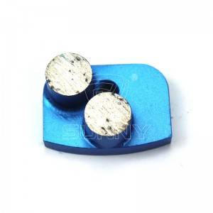 2 Button Segments Diamond Grinding Tools For Newgrind Grinder