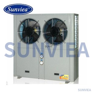 Special heat pump for aluminium profile oxidation
