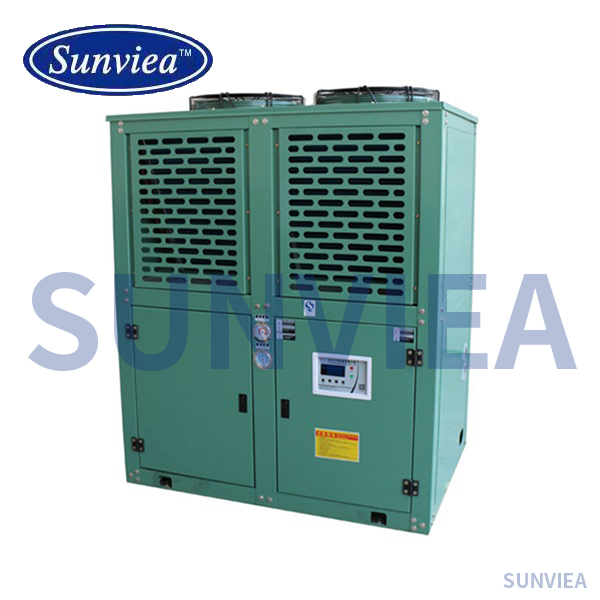 OEM/ODM China Package Water Chiller - China Supplier 230-430kw European Screw Type Modular Design Air Cooled Heat Pump Water Chiller – Sunvi