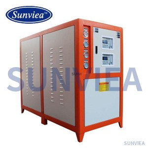 Special water chiller for electroplating