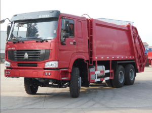 SINOTRUK 16-20cbm trash collector truck