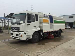DONGFENG 15cbm ລົດ jetting sweeper