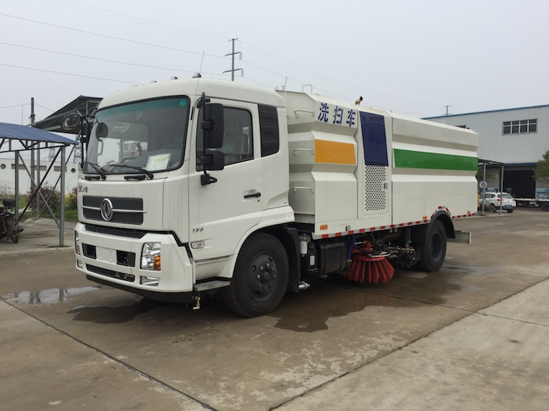 DONGFENG 15cbm jetting sweeper truck Featured Image
