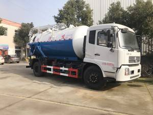 DONGFENG 10-12cbm vacuum suction Truck
