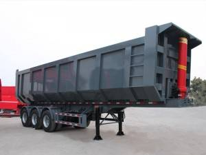 45cbm tipping semi trailer