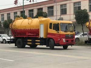 DONGFENG 12cbm sewer suction cleaning truck