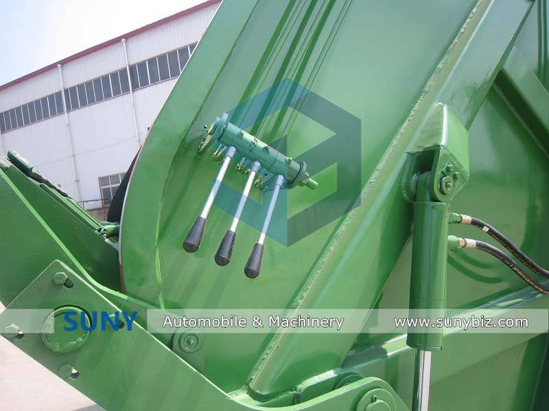 DONGFENG 16-18cbm refuse compressed truck