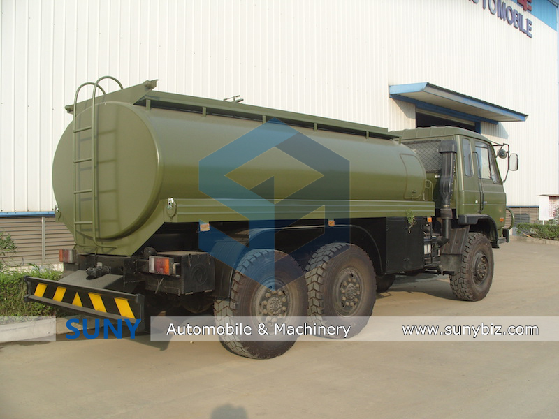 DONGFENG 6*6 8-12cbm fuel tank truck