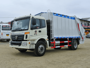 FOTON 14-16cbm waste compressed truck