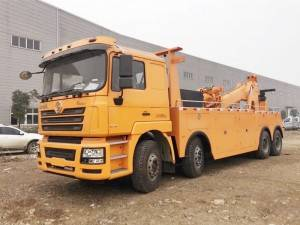 SHACMAN 20T20D towing wrecker truck