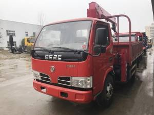 DONGFENG 3.2T light truck mounted crane
