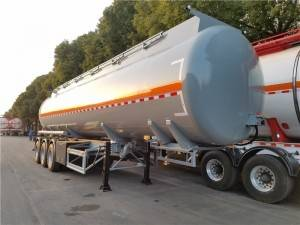 40cbm chemical tank semi trailer
