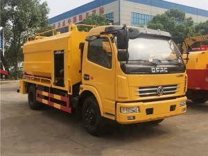DONGFENG 8cbm sewage suction jetting truck