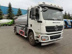 SHACMAN 10-15cbm fuel transport tanker