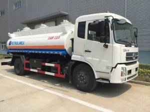 DONGFENG 10-15cbm fuel transport truck