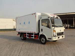 SINOTRUK HOWO food freezing truck