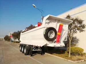 30cbm tipper semi trailer