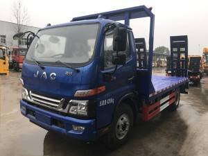 JAC construction machine lorry