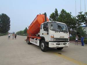 JAC 10-12cbm sewage suction truck