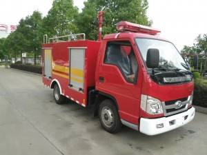 FORLAND mini water fire fighting truck