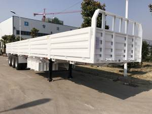 3 axle 50T cargo semi trailer