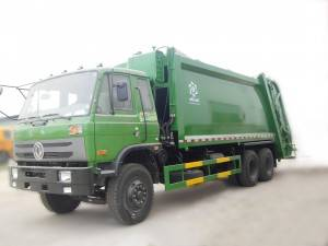DONGFENG 16-18cbm compressed ٽرڪ انڪاري