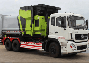DONGFENG 12-14cbm mobile compression garbage station