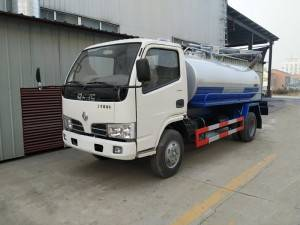 DONGFENG 2-4cbm excrement suction truck