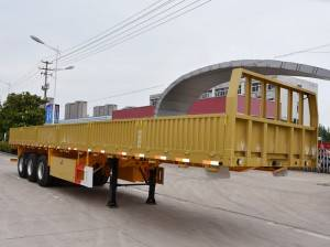 3 axle 30T cargo semi trailer