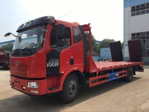 FAW 10-15T construction machine lorry