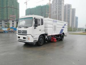 DONGFENG 16cbm Scania Fratelli stradale jetting in