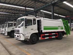 DONGFENG 12-14cbm compactor garbage truck