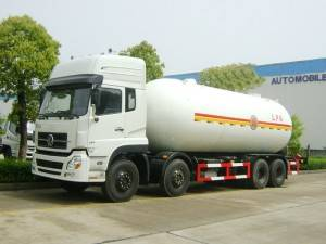 DONGFENG 34.5cbm gas transporting truck