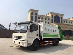 DONGFENG 6-8cbm rubbish compactor truck