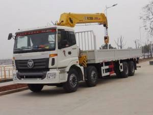 FOTON 16T telescopic crane mounted truck