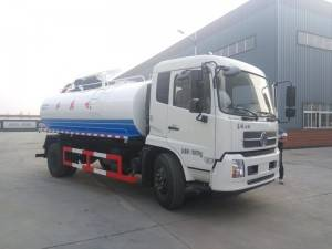 DONGFENG 10-12cbm sludge suction truck