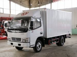 DONGFENG iron corrugated box truck