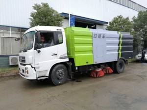 DONGFENG 12cbm road sweeping truck