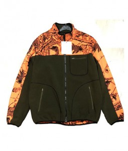 Bonded camo hunting fleece jacket & vest