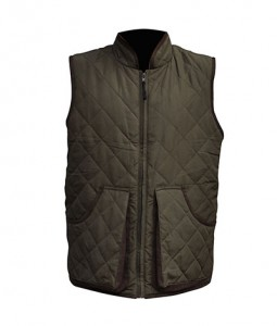 Hunting casual men's padding vest in winter