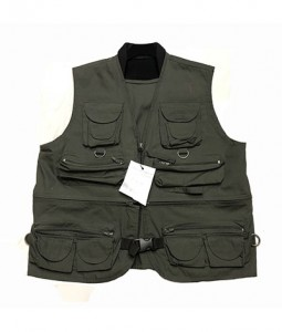 Lightweight, durable fishing outdoor vest fast dry