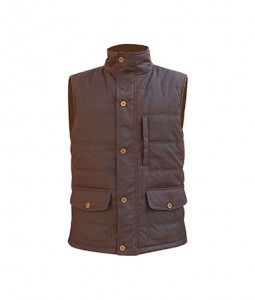 Warm insulation wax men's padding vest hiking   Color: as per of your request.