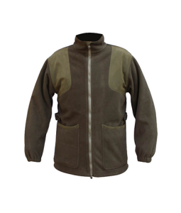Bonded fleece with membrane hunting fleece jacket waterpoof windproof for men's & women's