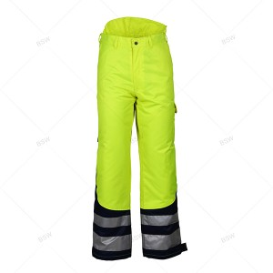 8505 High-visible winter Trousers