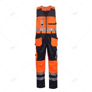8508 Multi-pocket Overalls