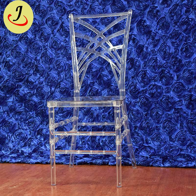 Popular wedding Used Hotel Ice Plastic Chiavari Chair SF-X09 Featured Image