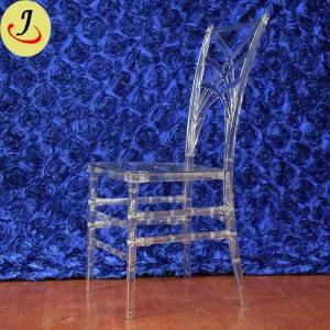 Popular wedding Used Hotel Ice Plastic Chiavari Chair SF-X09