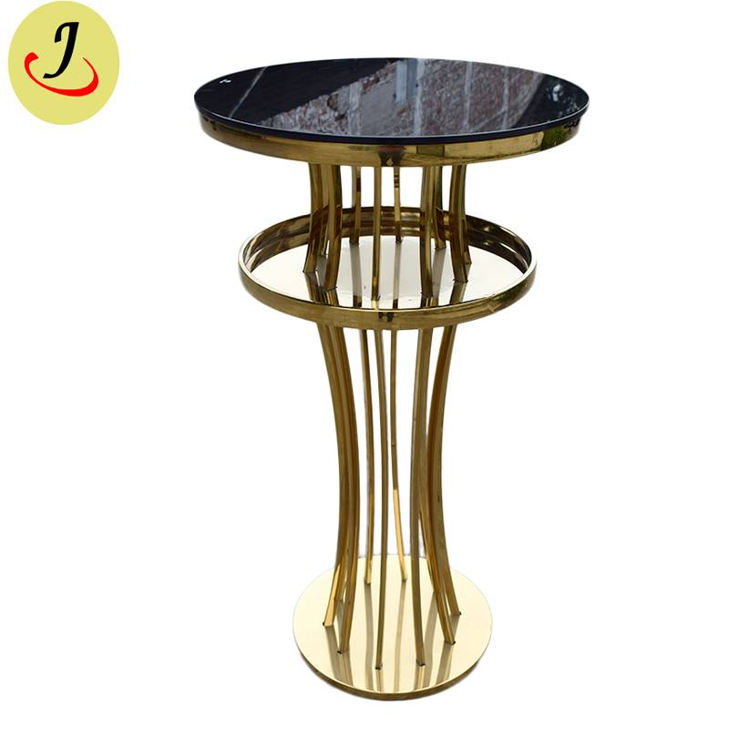 High Quality Modern Stainless Steel Wedding Bar Table SF-MB03 Featured Image