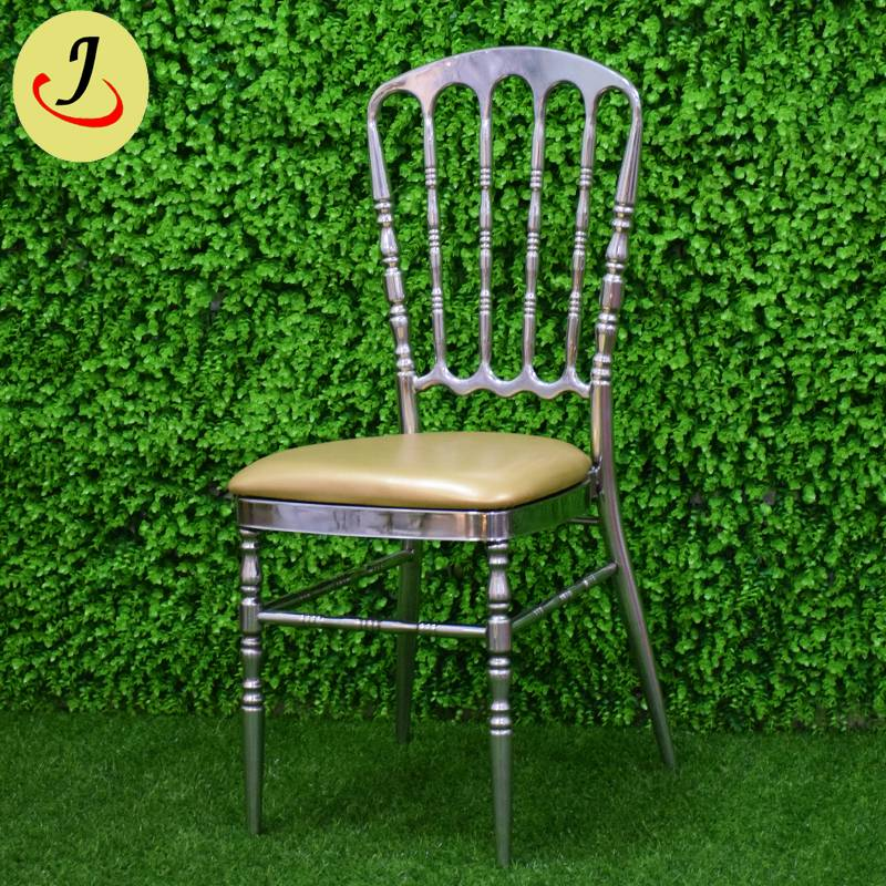 Top sale royal stainless steel wedding Tiffany chair   SF-SS041 Featured Image